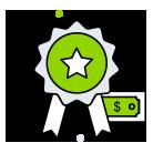 Icon mit Auszeichnung für Qualität und Innovation